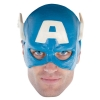 Captain America Vinyl Adult  Mask